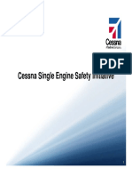 Cessna Single Engine Safety Initiative