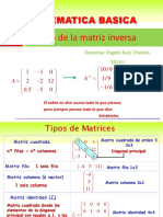 Resumen UNT Matrices Inversa