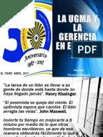 """""""La UGMA y la Gerencia en el siglo XXI"""""""