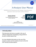 Vsp Aircraft Analysis User Manual