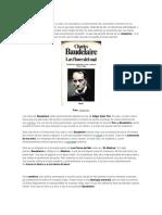 ANALISIS DE POEMAS DE BAUDELAIRE