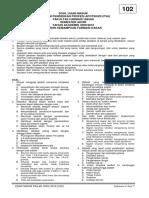Tes Kemampuan Dasar 102 - SOAL