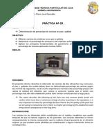 Informe Practica2 Coloración llama