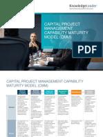 Captial Project Management Capability Maturity Model (CMM)