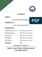 Envoirmental Lab Report