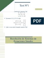 Sistem de Ecuaciones Practica