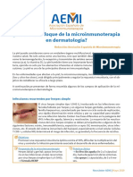 Articulo_Newsletter_AEMI_042019 Enfoque de La Microinmunoterapia en Dermatologia
