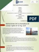 Aplicaciones de La Cinematica de Cuerpo Rigido en La Ing.civil