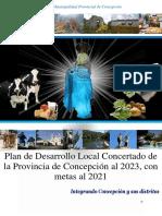 Plan de Desarrollo Local Concertado de La Provincia de Concepcion Al 2023 v12 01 Convertido