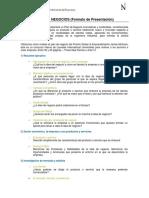 Guía de Presentación de Plan de Negocios
