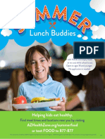 Summer Lunch Program Flyer 2019