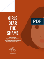 Girls Bear the Shame