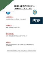 Medicion y Verificacion Aplicando La Norma Iso 500001