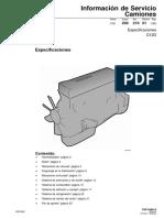Especificaciones Motor D12D