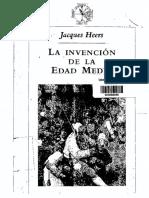 La invención de la Edad Media - Jacques Heers (V).pdf