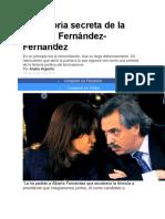 Cristina Kirchner Anunció Que Alberto Fernández Encabezará La Fórmula Presidencial y Ella Irá de Vice
