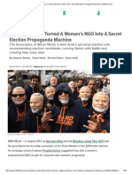 How Modi, Shah Turned a Women's NGO Into a Secret Election Propaganda Machine _ HuffPost India