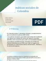 Problemáticas Sociales de Colombia