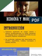 Heroína y Morfina