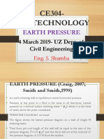 CE304-Marrch 2019-Earth Pressure_Rankine's Theory-Eng. S. Shumba