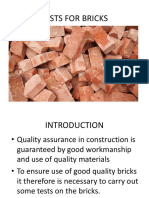 Tests for Bricks