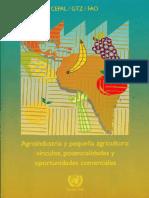 Agro Industria Y MYPES, PYMES