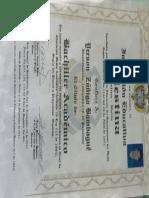 Diploma Jerson