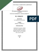 El Cheque_derecho Comercial