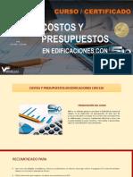Brochure Costos y Presupuestos Con s10