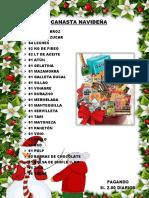 lista canastas navideñas