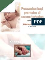 Perawatan Bayi Prematur