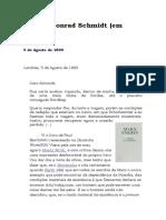 Cartas de Engels a Conrad Schmidt (1890)