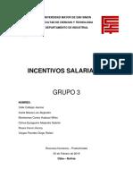 Incentivos Salariales Grupo3