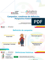 Definiciones Historicas de Campesino