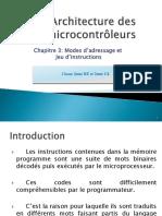architecture microcontroleurs