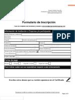 Formulario de Inscripcion PSGRD