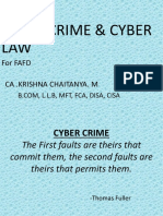 1. Cyber Crime & Cyber Law