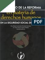 El impacto de la reforma en materia de derechos humanos en la seguridad social en México