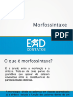 Morfossintaxe OK