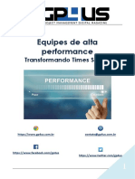 Equipes de Alta Performance - Transformando Times Scrum