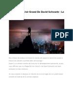 La Magie de Voir Grand David Schwartz PDF