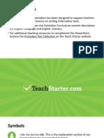 teachstarter exploringproceduraltextspowerpoint 76068