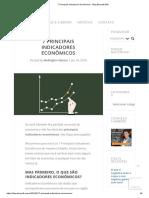 7 Principais Indicadores Econômicos - Blog Bluesoft ERP