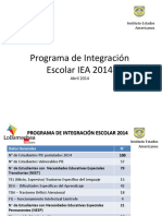 Postulacion Alumnos PIE 2014