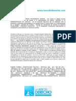 JURISPRUDENCIA. CONSEJO de ESTADO.- Procesos en Los Que No Se Puede Actuar en Causa Propia - 10 Febrero 2017