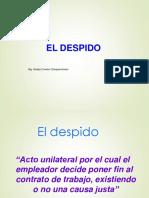 7. El Despido
