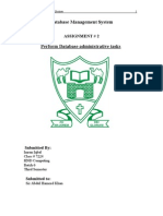 IMRAN 2Database Management System