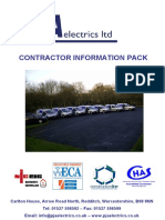 Contractor Information Pack