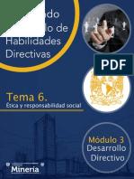 Ética. Desarrollo Directivo