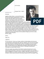 Aldous Huxley the Ultimate Revolution Mar 20 1962 Berkeley